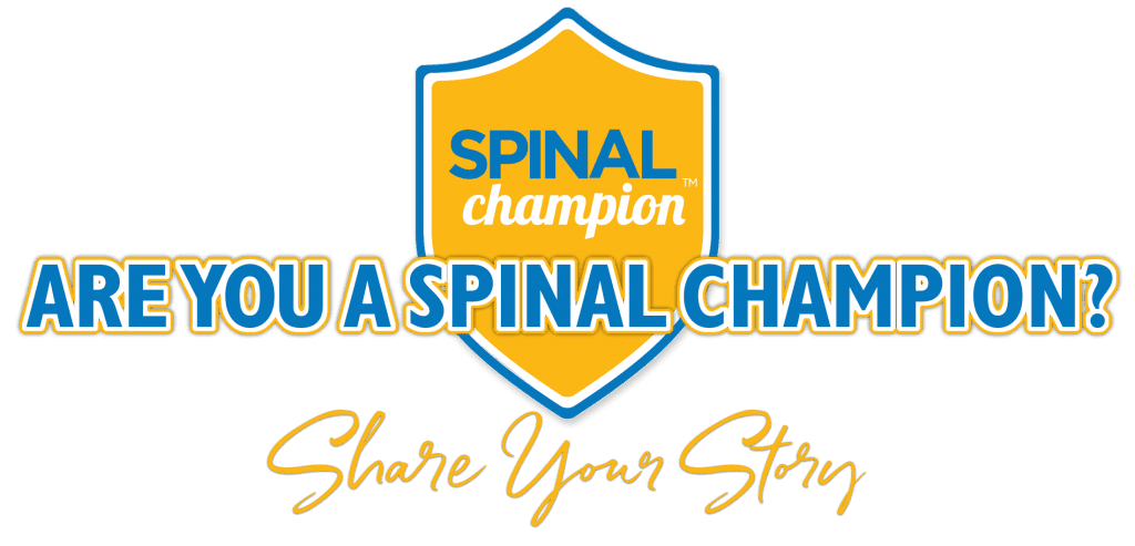 Spinal Champion, Are you a champion?