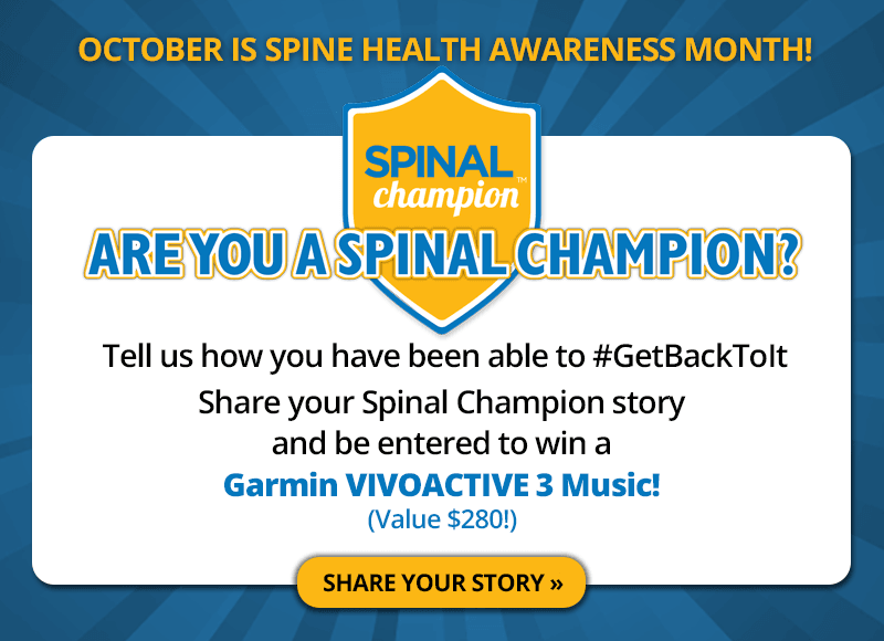 Are you a Spinal Champion?